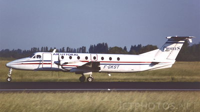 F-GKST - Beech 1900C - Proteus Airlines