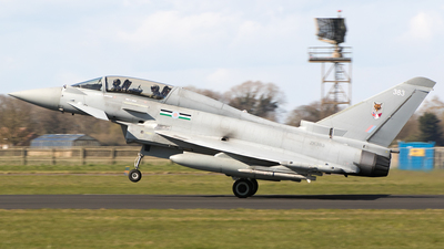 ZK383 - Eurofighter Typhoon T.3 - United Kingdom - Royal Air Force (RAF)