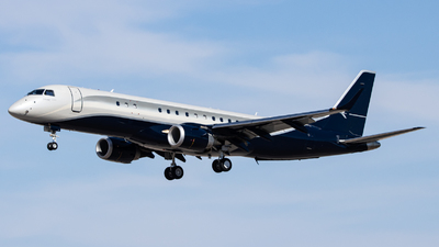N378TP - Embraer 190 Lineage 1000 - Private