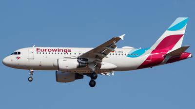 A picture of DAKNV - Airbus A319112 - Eurowings - © Schmidt Attila