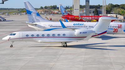 M-INSK - Gulfstream G650 - Private