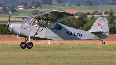 A picture of HBETD - Aeronca 7AC (CONV) Champion - [7AC3490] - © Alexandre Fazan