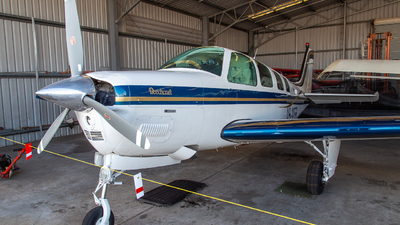 VH-MSB - Beechcraft A36 Bonanza Jaguar Special Edition - Private
