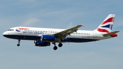 G-TTOE - Airbus A320-232 - British Airways