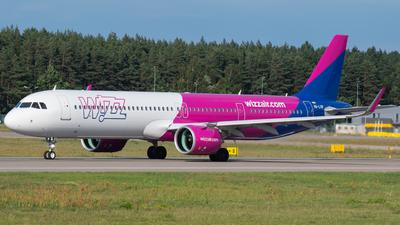 A picture of HALVR - Airbus A321271NX - Wizz Air - © spottingfabi / Fabian Drescher