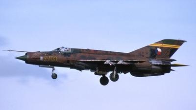 7708 - Mikoyan-Gurevich MiG-21MF Fishbed J - Czechoslovakia - Air Force