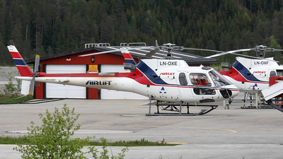 LN-OXE - Aérospatiale AS 350B3 Ecureuil - Airlift