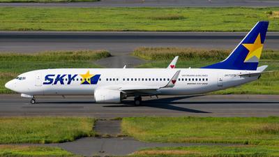 JA737Q - Boeing 737-86N - Skymark Airlines