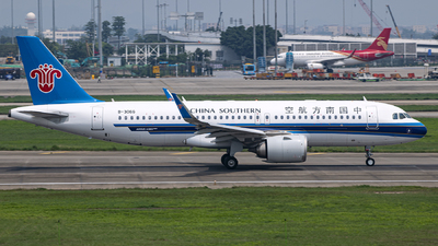 B-306G - Airbus A320-251N - China Southern Airlines