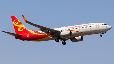 A picture of B1538 - Boeing 73784P - Hainan Airlines - © Shenyang Kai Deng