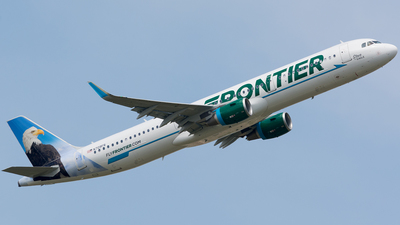 N709FR - Airbus A321-211 - Frontier Airlines