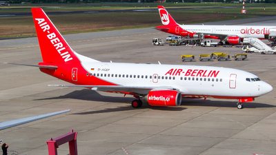 D-AGEP - Boeing 737-75B - Air Berlin