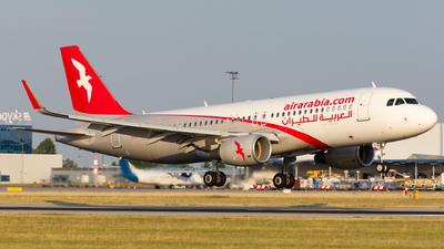 A6-AOX - Airbus A320-214 - Air Arabia