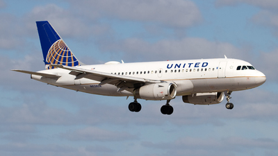 A picture of N838UA - Airbus A319131 - United Airlines - © Jeremy D. Dando