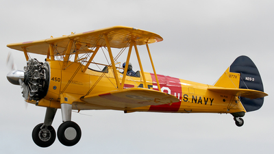VH-PUD - Boeing N2S-3 Stearman - Private