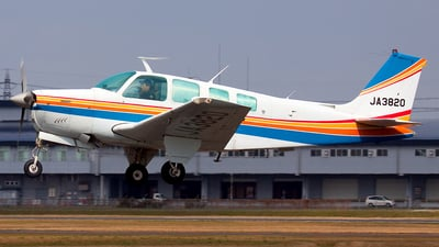 JA3820 - Beechcraft A36 Bonanza - Private