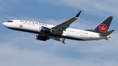 A picture of CFTJV - Boeing 737 MAX 8 - Air Canada - © Shon Fridman