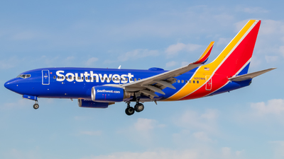 A picture of N210WN - Boeing 7377H4 - Southwest Airlines - © Editing