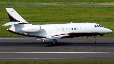 N286CX - Dassault Falcon 2000 - Private