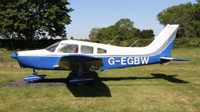 G-EGBW - Piper PA-28-161 Cherokee Warrior II - Private
