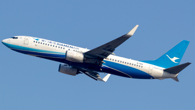 A picture of B1915 - Boeing 73785C - Xiamen Air - © Flying Shark