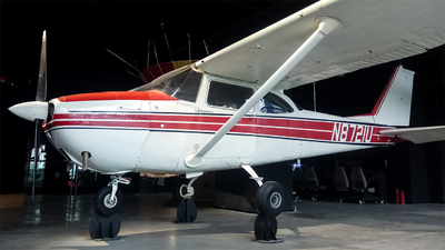 N8721U - Cessna 172F Skyhawk - Private