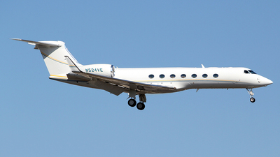 N524VE - Gulfstream G550 - Private