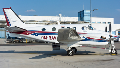 OM-RAV - Beechcraft C90B King Air - Private