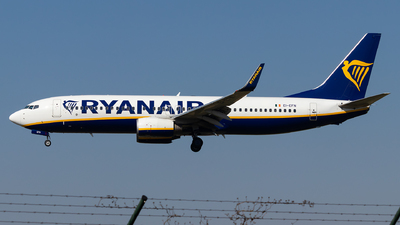 A picture of EIEFN - Boeing 7378AS - Ryanair - © Luke Dogan