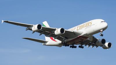 A6-EVI - Airbus A380-842 - Emirates