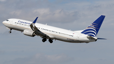 HP-1724CMP - Boeing 737-8V3 - Copa Airlines