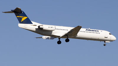 VH-XWP - Fokker 100 - Alliance Airlines