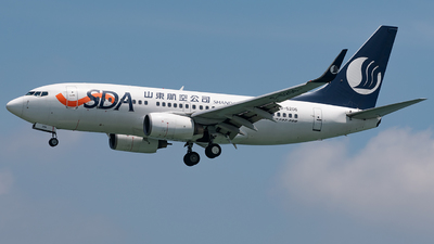 B-5206 - Boeing 737-75N - Shandong Airlines
