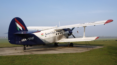 HA-YHF - PZL-Mielec An-2R - Aero Club - Malév
