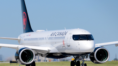 A picture of CGJXE - Airbus A220300 - Air Canada - © Aaron Miles