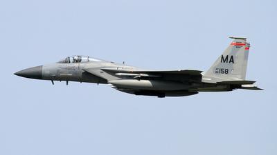 86-0158 - McDonnell Douglas F-15C Eagle - United States - US Air Force (USAF)