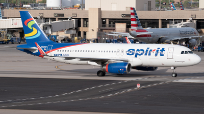 A picture of N631NK - Airbus A320232 - Spirit Airlines - © Marina Phillips