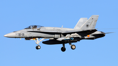 C.15-55 - McDonnell Douglas EF-18A+ Hornet - Spain - Air Force