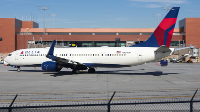 A picture of N834DN - Boeing 737932(ER) - Delta Air Lines - © Michael Rodeback