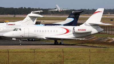 N958BG - Dassault Falcon 2000EX - Private