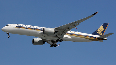 A picture of 9VSMF - Airbus A350941 - Singapore Airlines - © Luqman Alif