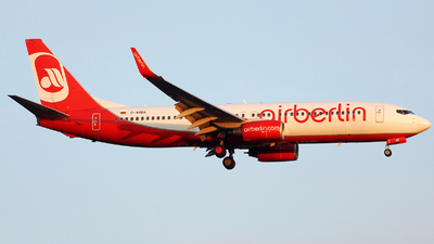 D-ABBK - Boeing 737-8BK - Air Berlin