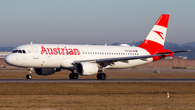 A picture of OELBJ - Airbus A320214 - Austrian Airlines - © Chr Pe