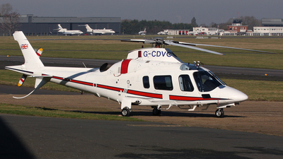 G-CDVC - Agusta A109E Power - Private