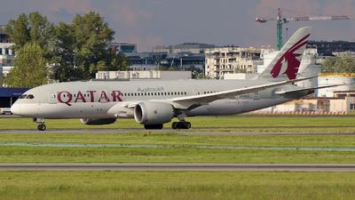 A picture of A7BCX - Boeing 7878 Dreamliner - Qatar Airways - © wroblik75