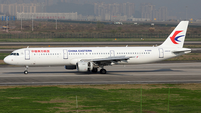 A picture of B2289 - Airbus A321211 - China Eastern Airlines - © YIJING HOU