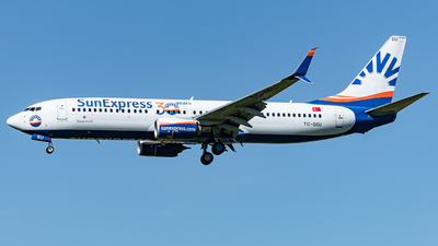 A picture of TCSEU - Boeing 7378HC - SunExpress - © Thierry Weber