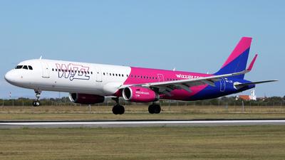HA-LXG - Airbus A321-231 - Wizz Air