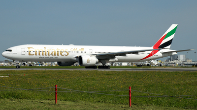 A picture of A6EPP - Boeing 77731H(ER) - Emirates - © a.m.