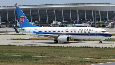 B-1240 - Boeing 737-81B - China Southern Airlines